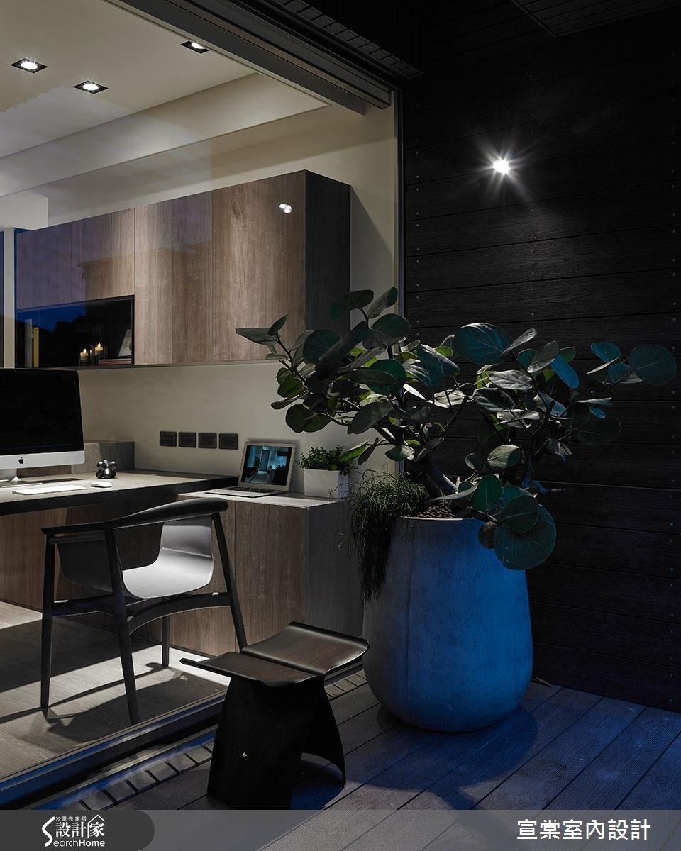 40坪中古屋(5~15年)_現代風工作區案例圖片_宣棠室內設計_宣棠_淨界 境界之19
