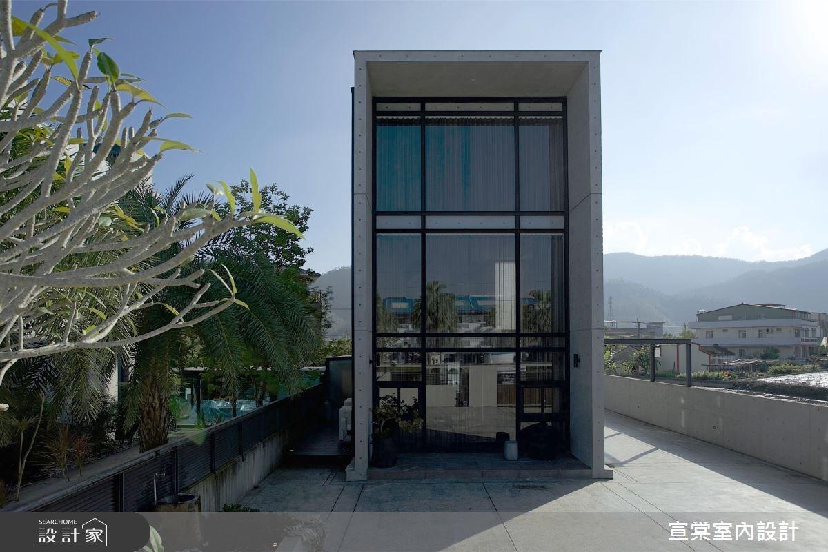 60坪新成屋(5年以下)_休閒風玄關案例圖片_宣棠室內設計_宣棠_極美居之1