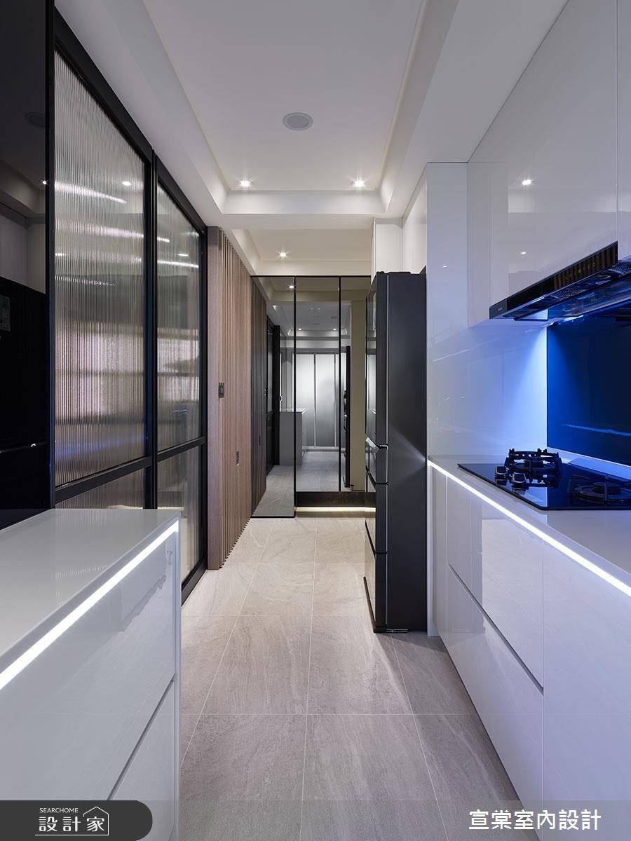 20坪老屋(16~30年)_現代風廚房案例圖片_宣棠室內設計_宣棠_時光界面之4