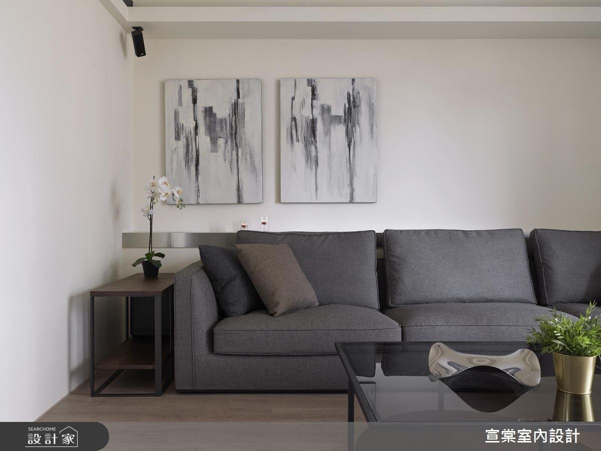 27坪老屋(16~30年)_現代風客廳案例圖片_宣棠室內設計_宣棠_淬煉之3