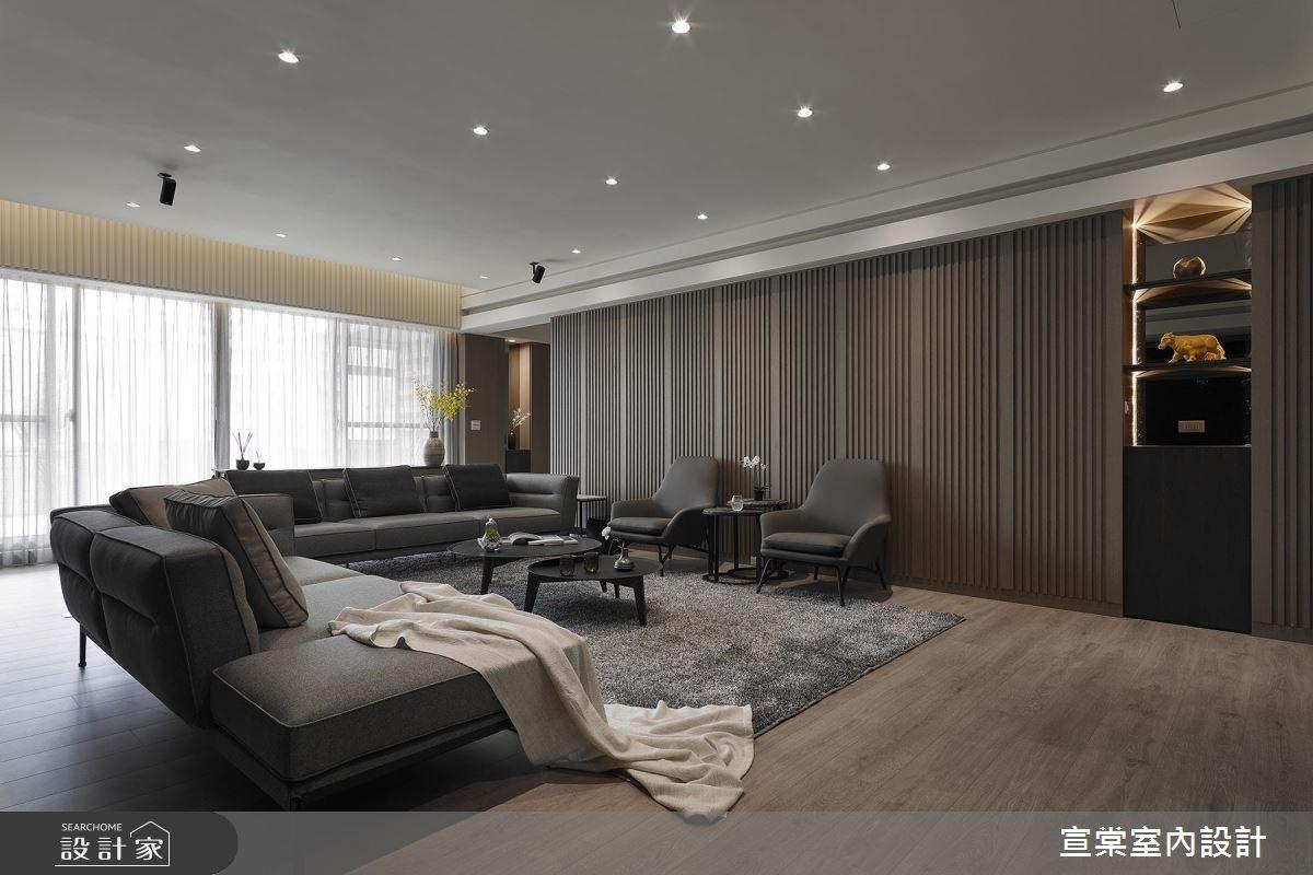 83坪老屋(16~30年)_現代風客廳案例圖片_宣棠室內設計_宣棠_傳承謐境之1