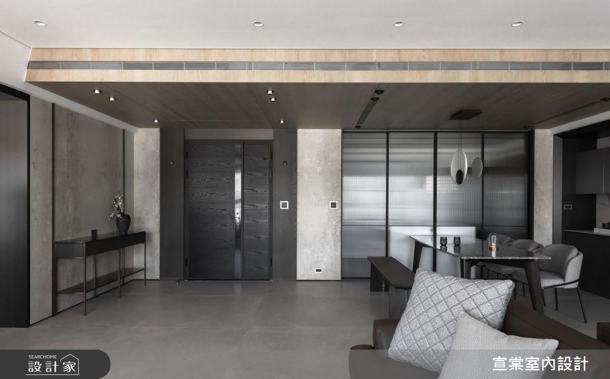 54坪預售屋_現代風案例圖片_宣棠室內設計_宣棠_筑光悅曲之2