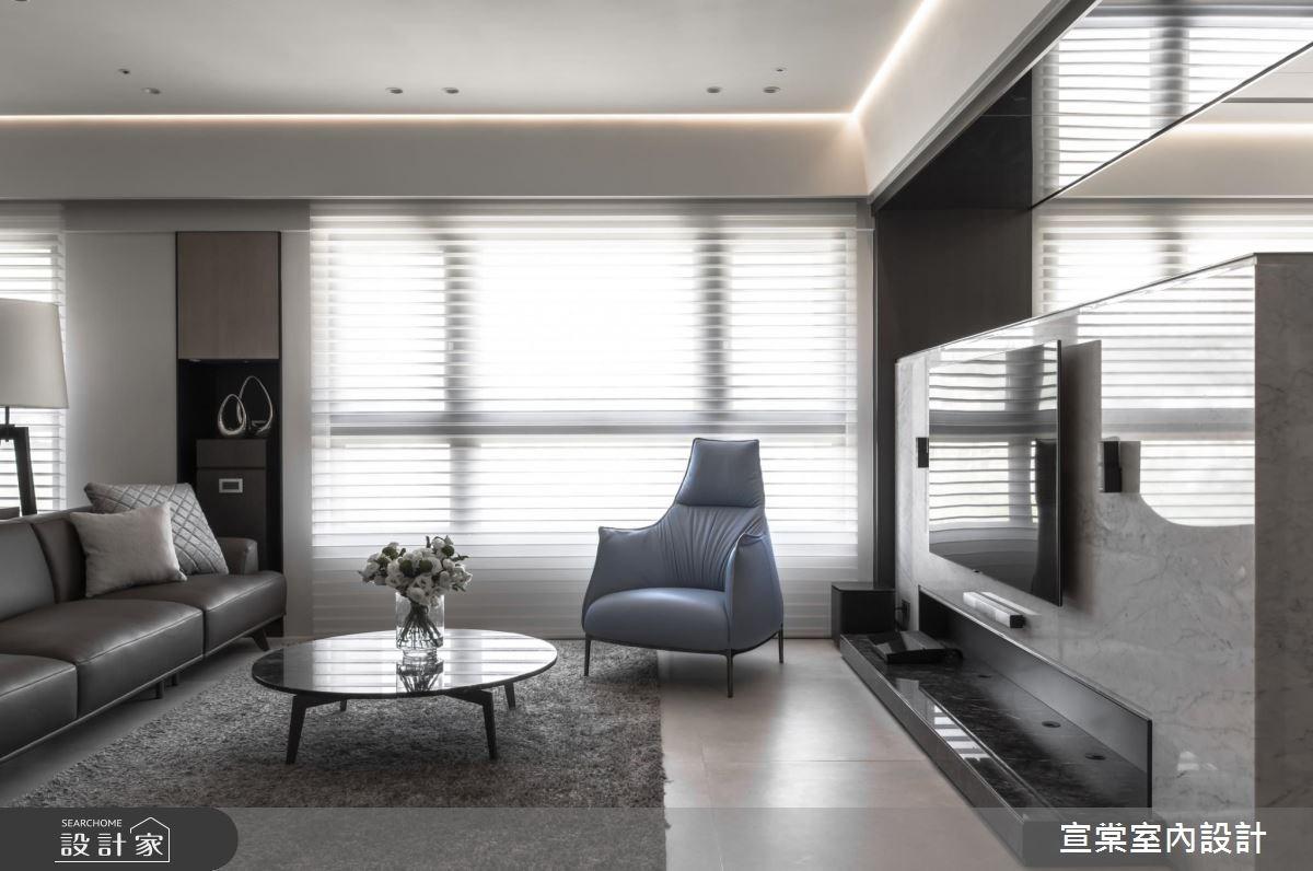 54坪預售屋_現代風案例圖片_宣棠室內設計_宣棠_筑光悅曲之3