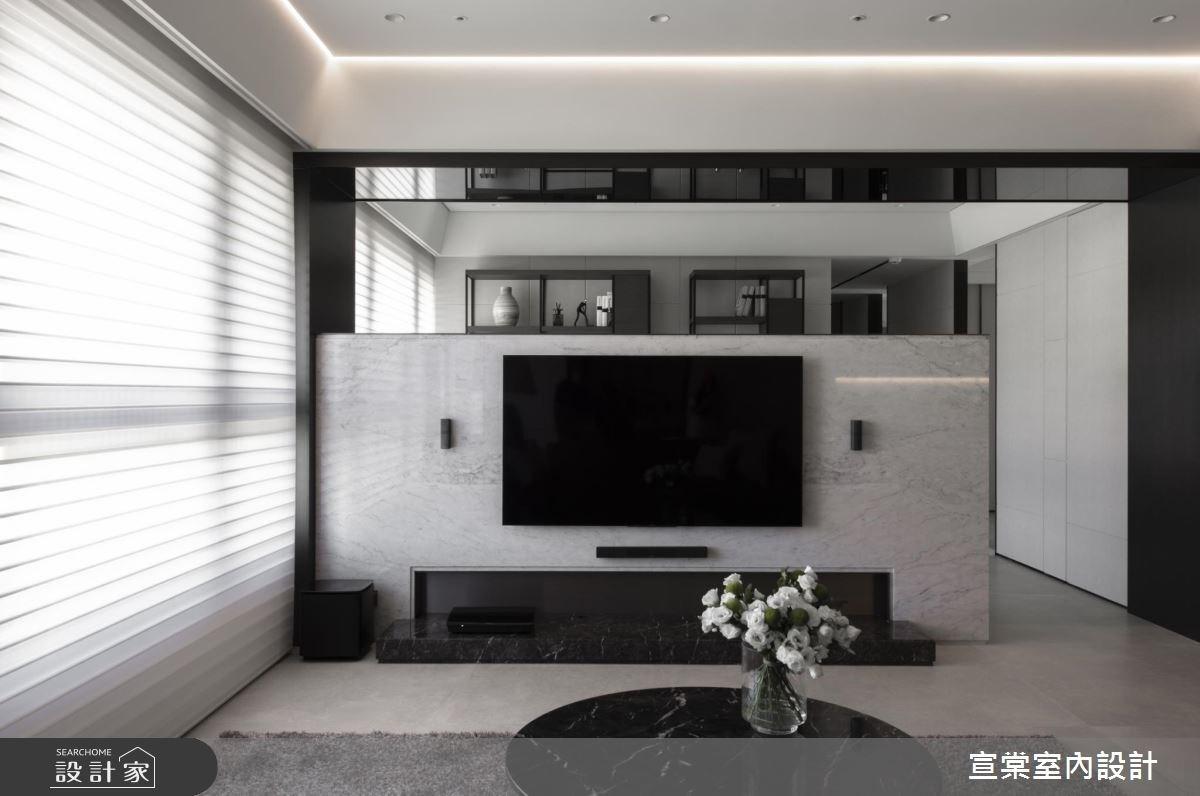 54坪預售屋_現代風案例圖片_宣棠室內設計_宣棠_筑光悅曲之4