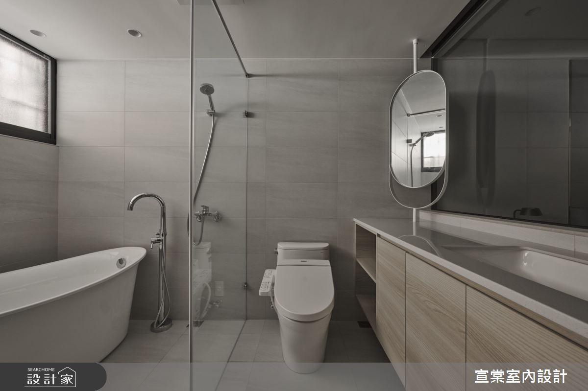33坪中古屋(5~15年)_現代風案例圖片_宣棠室內設計_宣棠_歸根之16