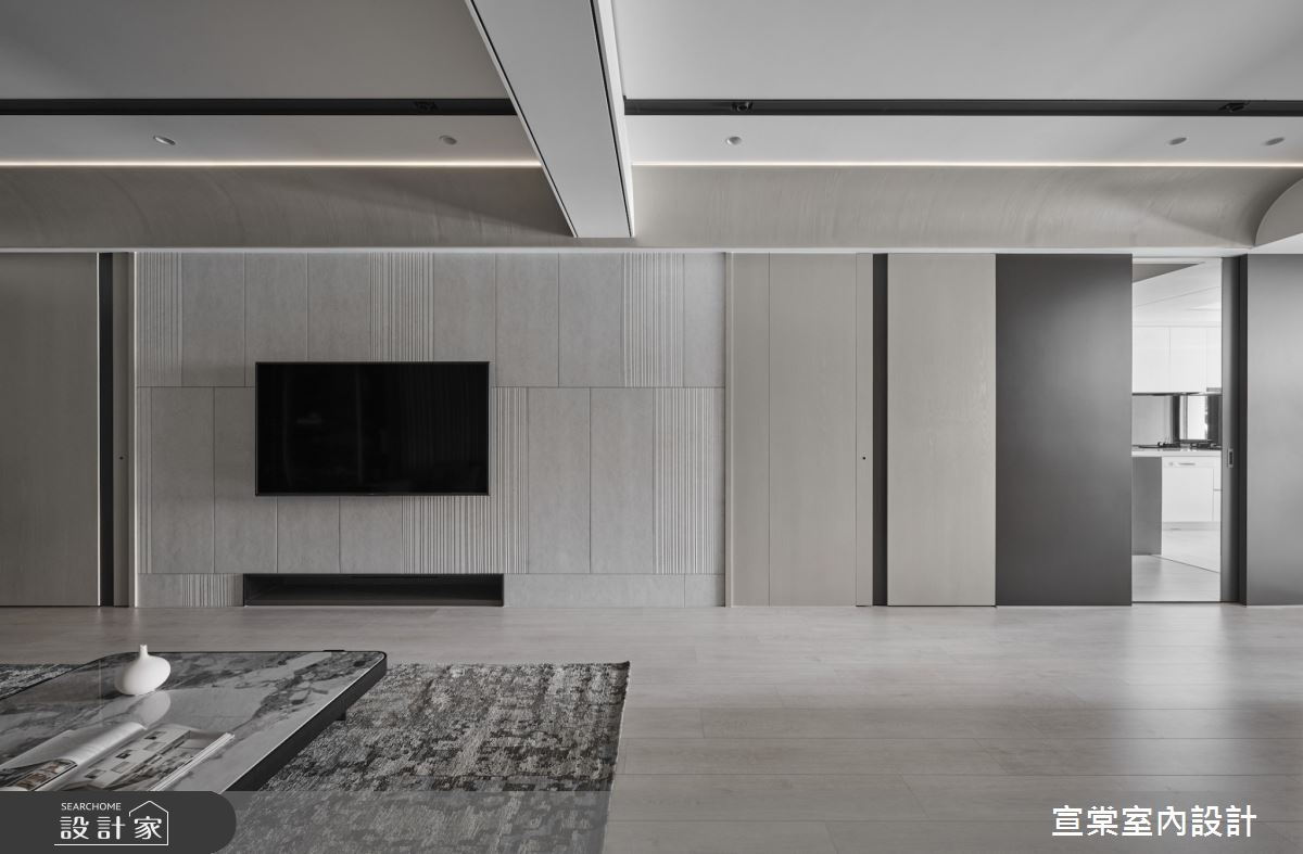 33坪中古屋(5~15年)_現代風案例圖片_宣棠室內設計_宣棠_歸根之3
