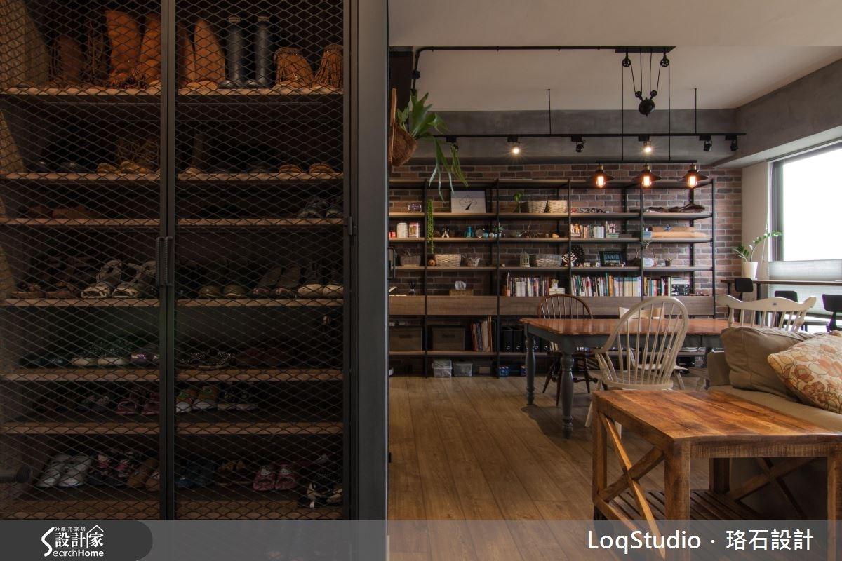 39坪新成屋(5年以下)_混搭風餐廳書房案例圖片_珞石室內裝修有限公司_珞石_06之4