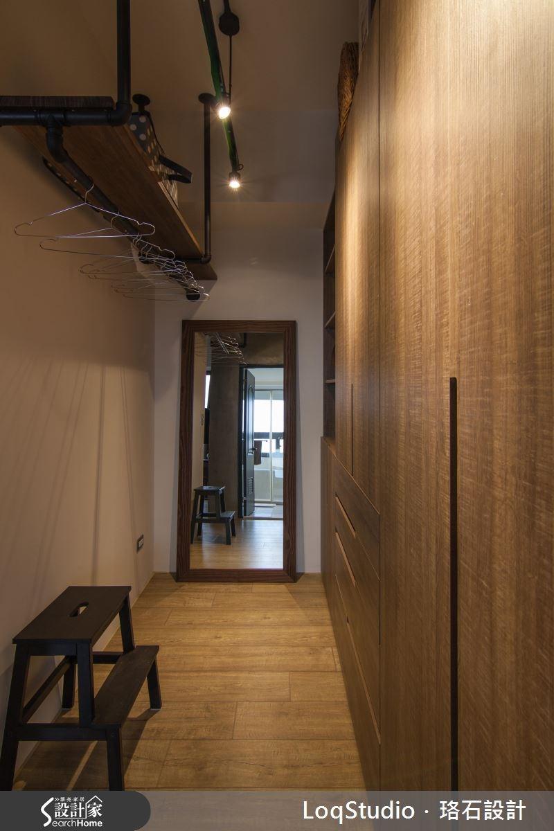 39坪新成屋(5年以下)_混搭風更衣間案例圖片_珞石室內裝修有限公司_珞石_06之18