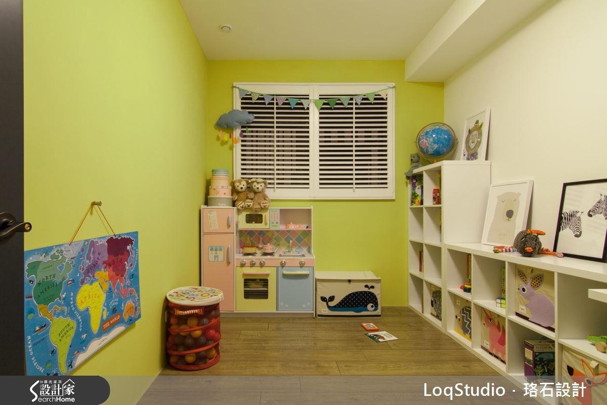 39坪新成屋(5年以下)_混搭風兒童房兒童房案例圖片_珞石室內裝修有限公司_珞石_06之19