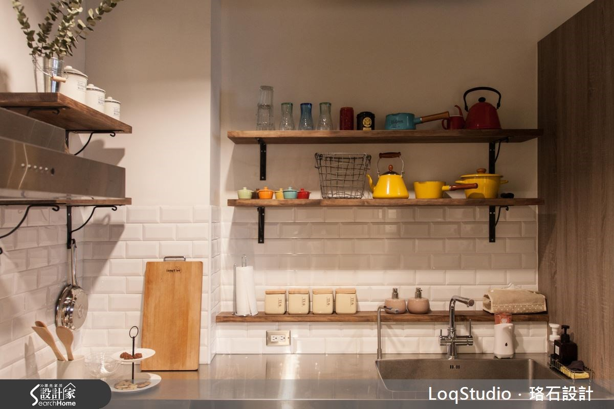 39坪新成屋(5年以下)_混搭風廚房案例圖片_珞石室內裝修有限公司_珞石_06之12