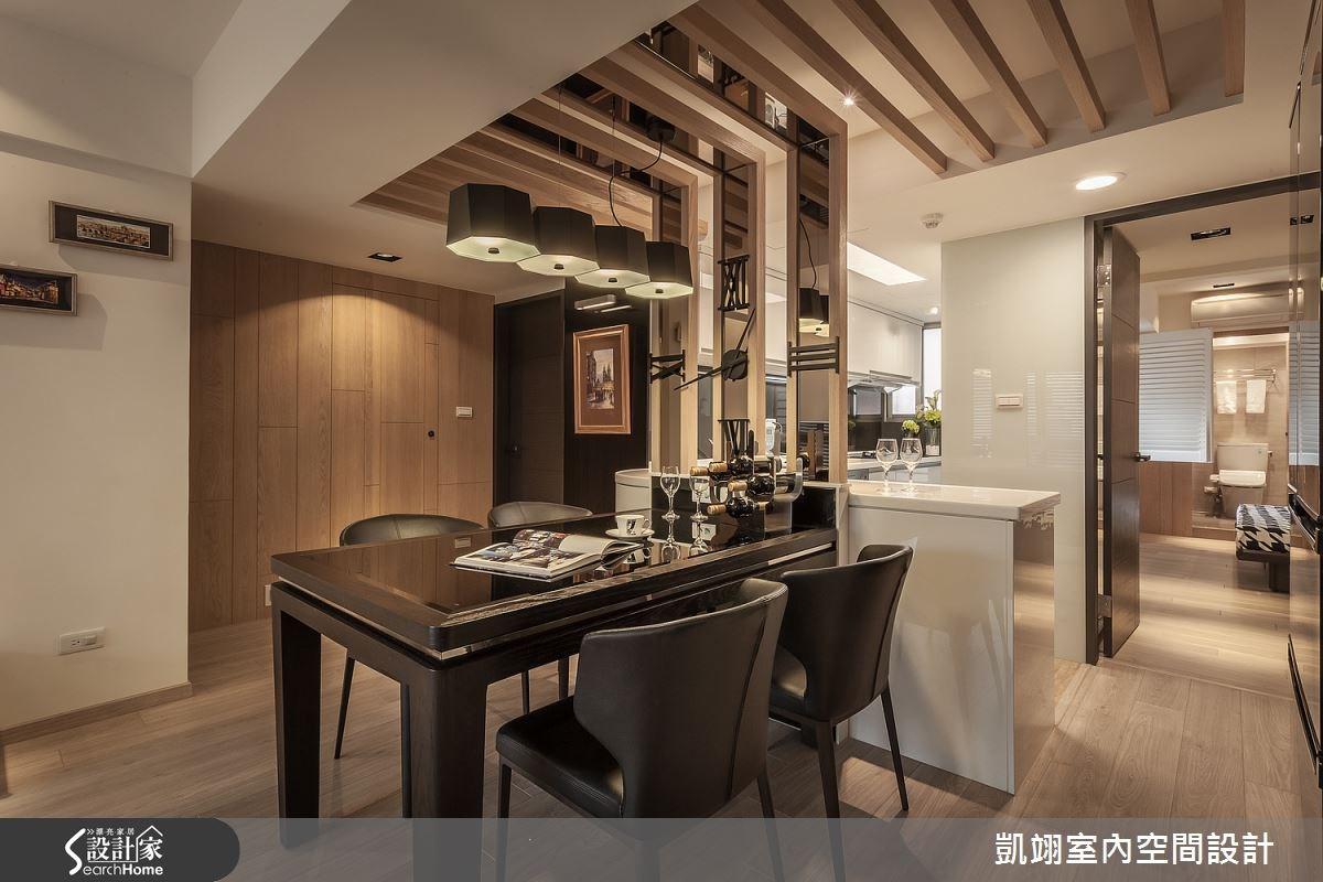 30坪老屋(16~30年)_現代風餐廳案例圖片_凱翊室內空間設計_凱翊_01之5