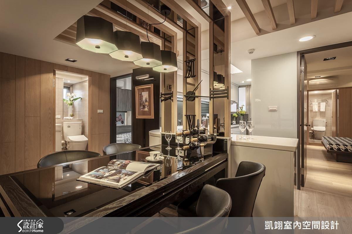 30坪老屋(16~30年)_現代風餐廳案例圖片_凱翊室內空間設計_凱翊_01之6