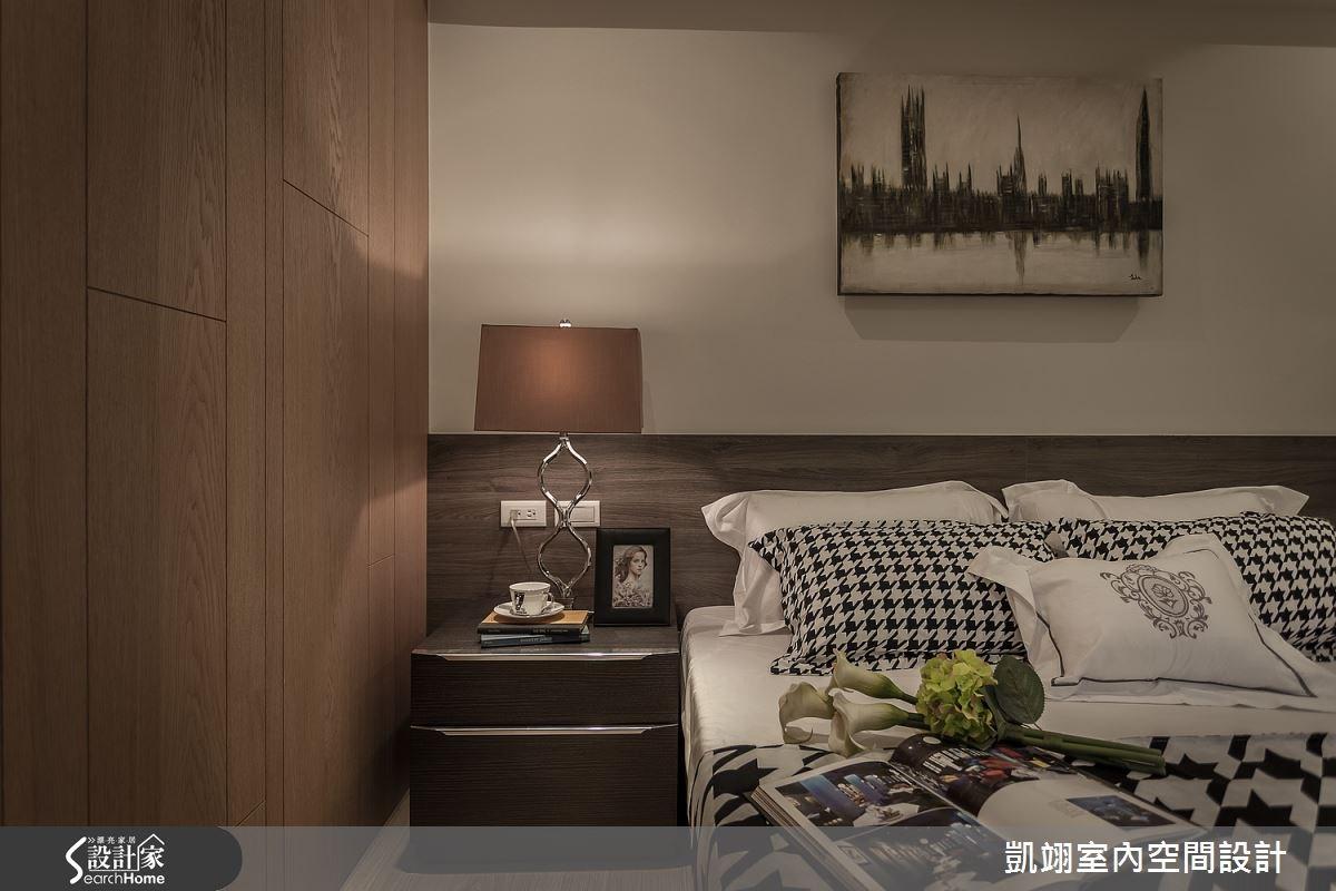 30坪老屋(16~30年)_現代風臥室案例圖片_凱翊室內空間設計_凱翊_01之7