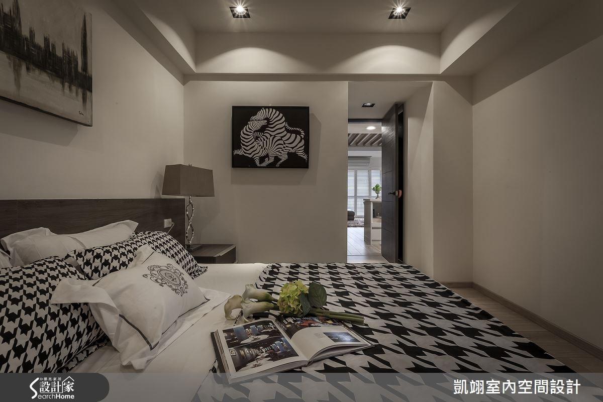 30坪老屋(16~30年)_現代風臥室案例圖片_凱翊室內空間設計_凱翊_01之9