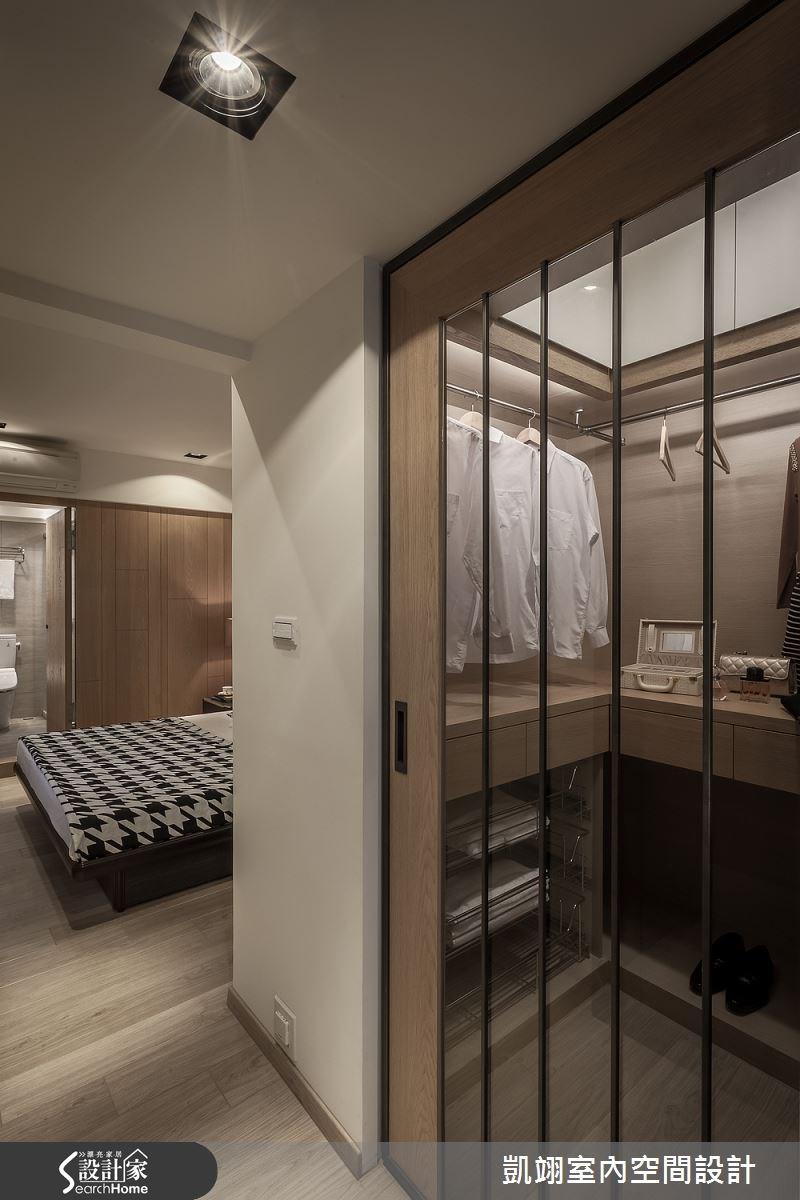 30坪老屋(16~30年)_現代風更衣間走廊案例圖片_凱翊室內空間設計_凱翊_01之10