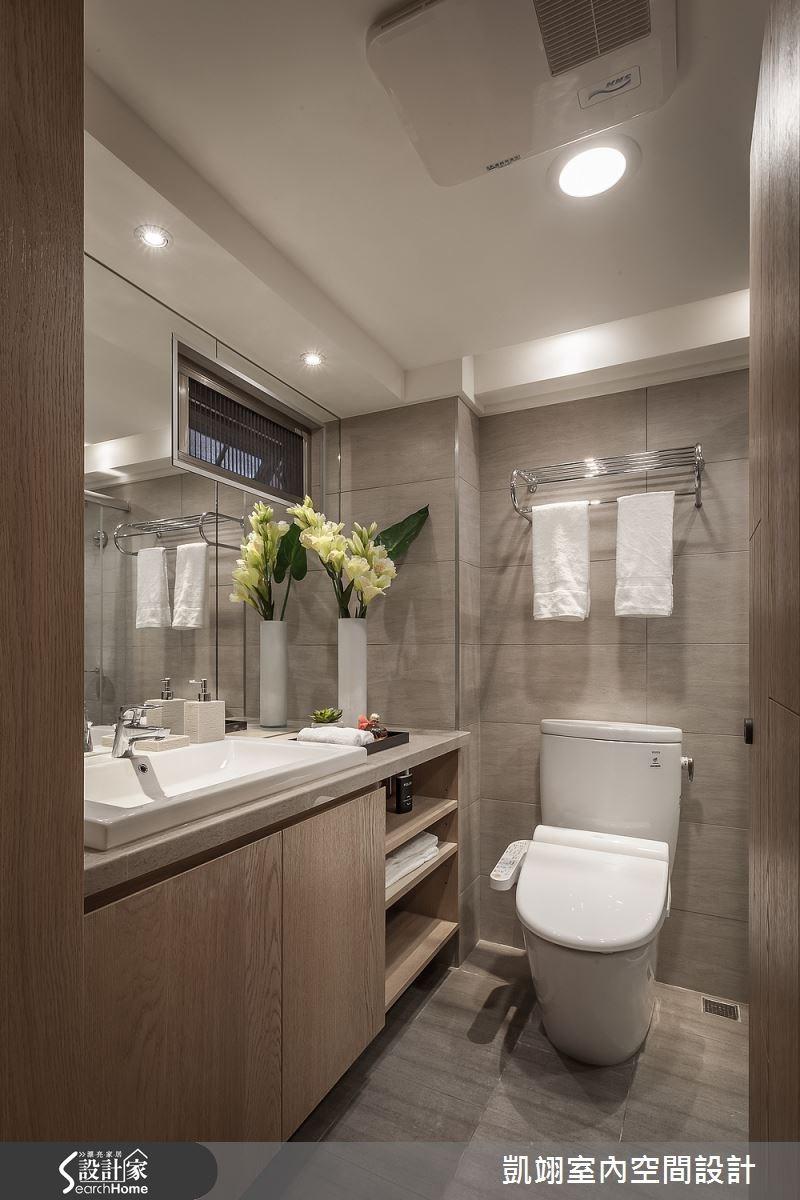 30坪老屋(16~30年)_現代風浴室案例圖片_凱翊室內空間設計_凱翊_01之13