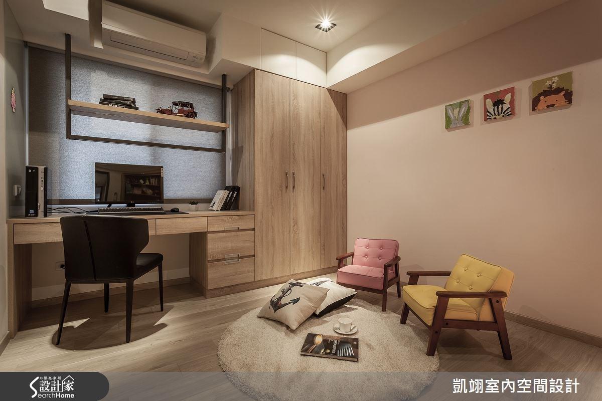 30坪老屋(16~30年)_現代風書房案例圖片_凱翊室內空間設計_凱翊_01之16