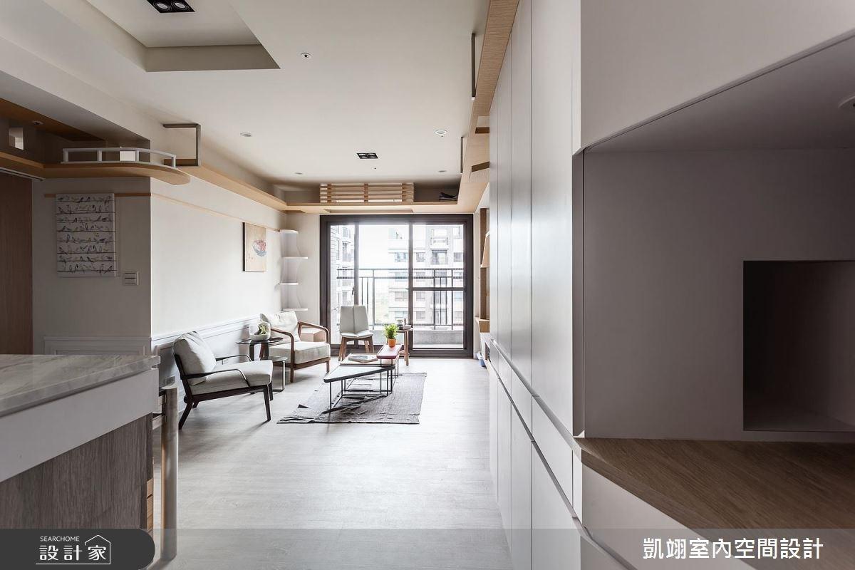20坪新成屋(5年以下)_簡約風案例圖片_凱翊室內空間設計_凱翊_05之1