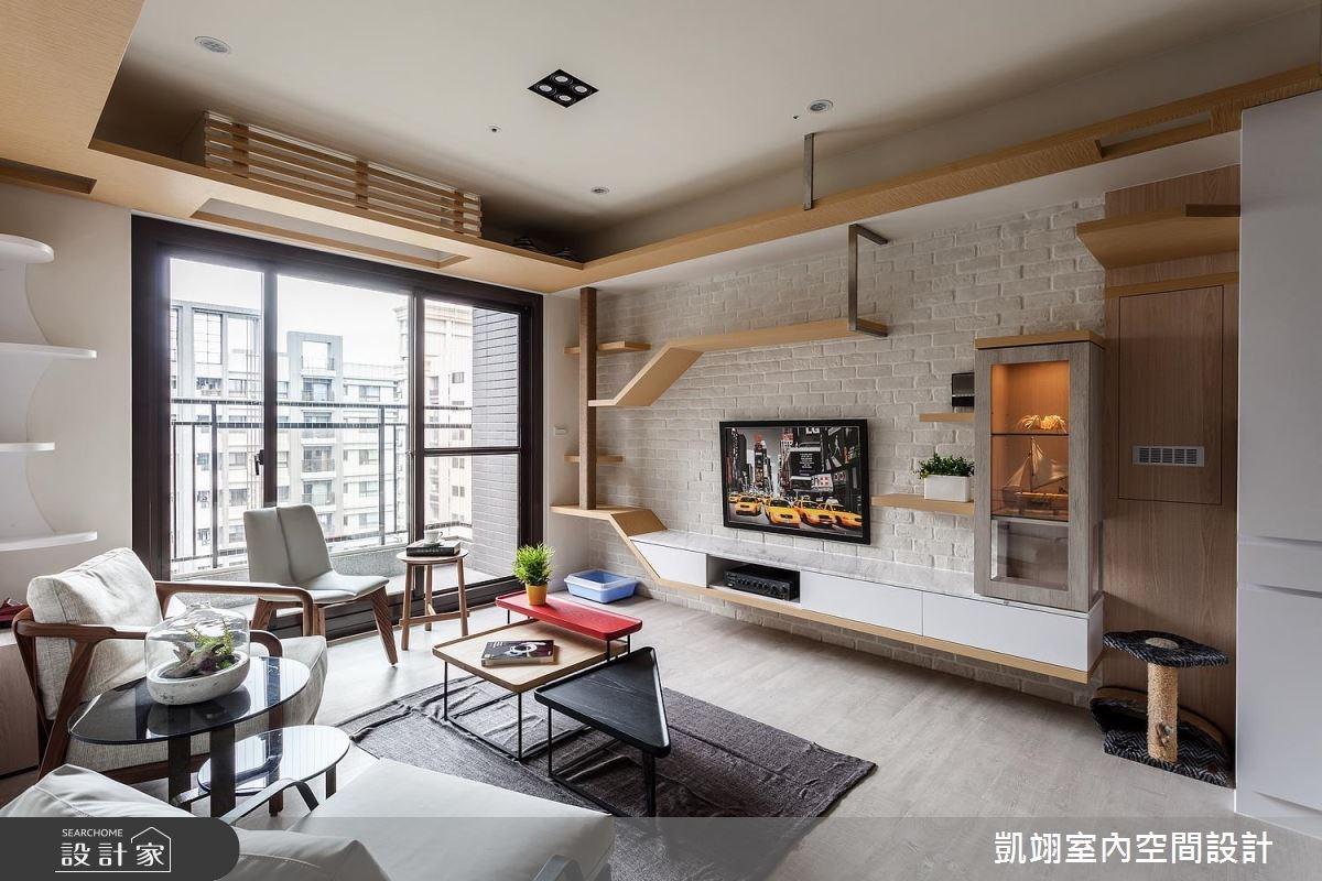 20坪新成屋(5年以下)_簡約風案例圖片_凱翊室內空間設計_凱翊_05之4
