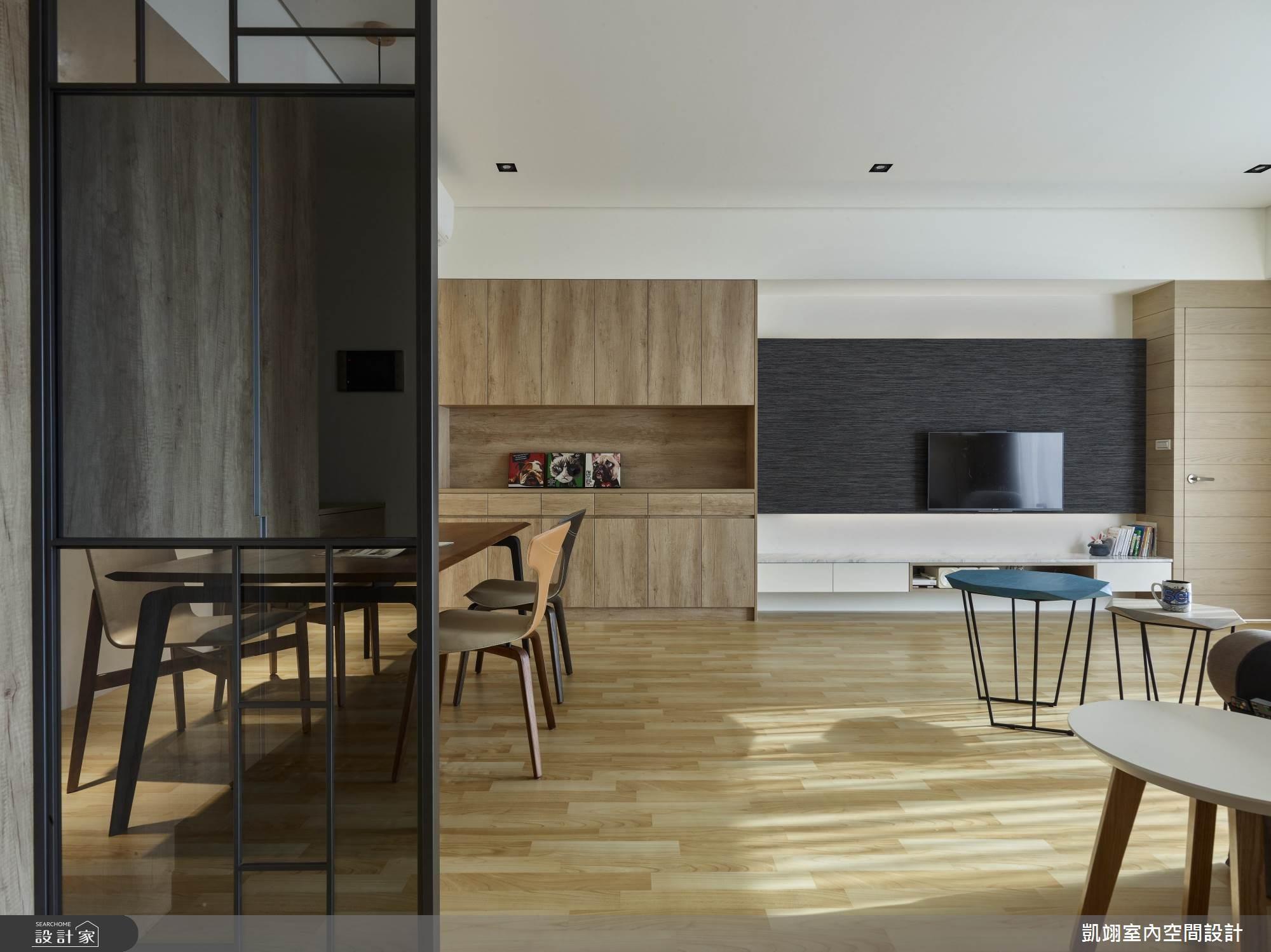 34坪新成屋(5年以下)_簡約風案例圖片_凱翊室內空間設計_凱翊_06之1