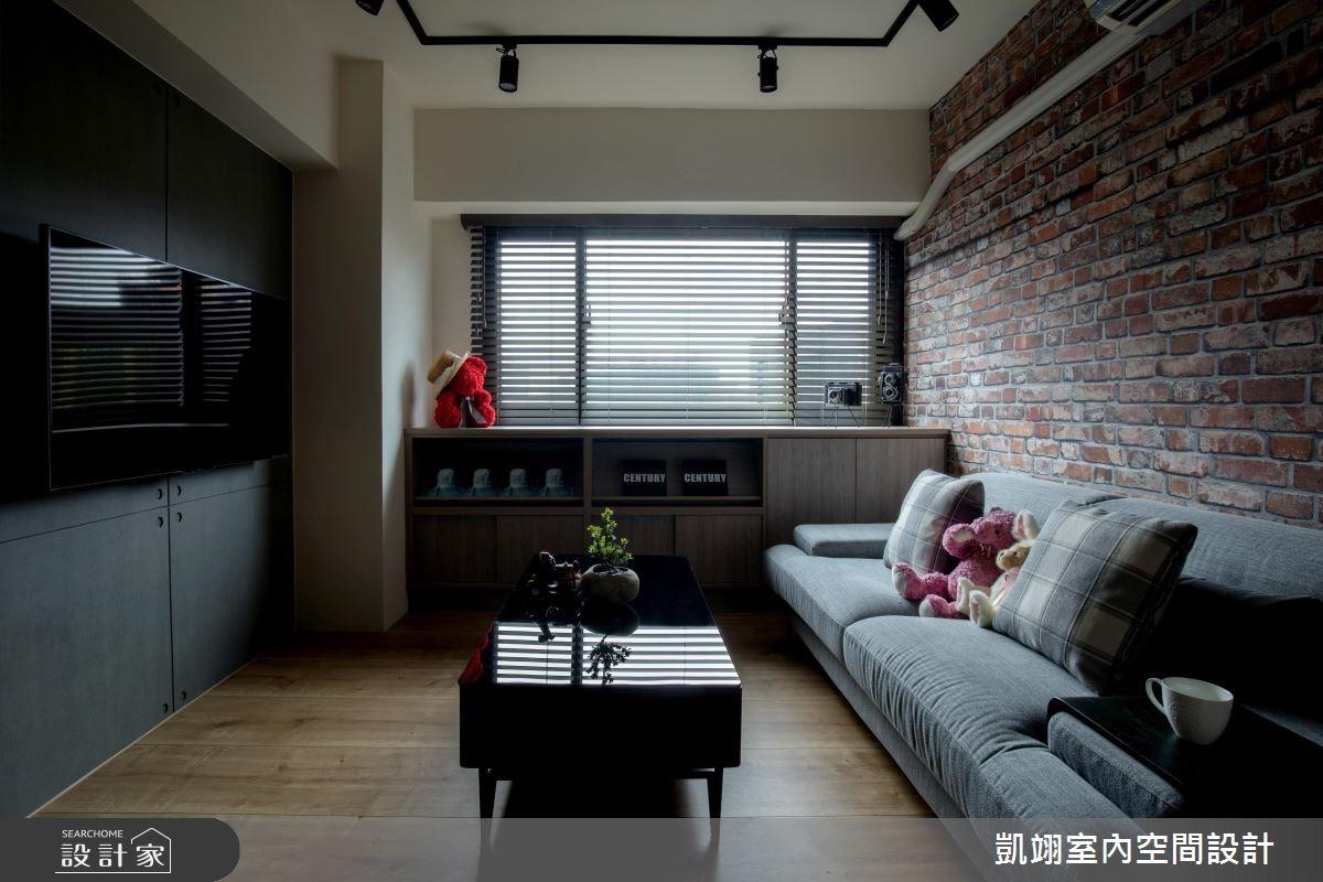 18坪老屋(16~30年)_工業風案例圖片_凱翊室內空間設計_凱翊_07之4