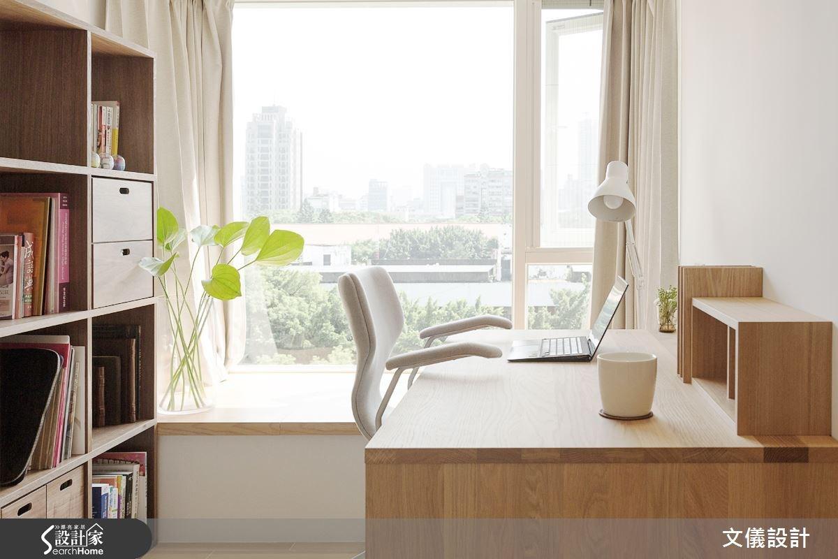 21坪老屋(16~30年)_日式無印風書房案例圖片_文儀室內裝修設計有限公司_文儀_無印良品。輕暖宅之4