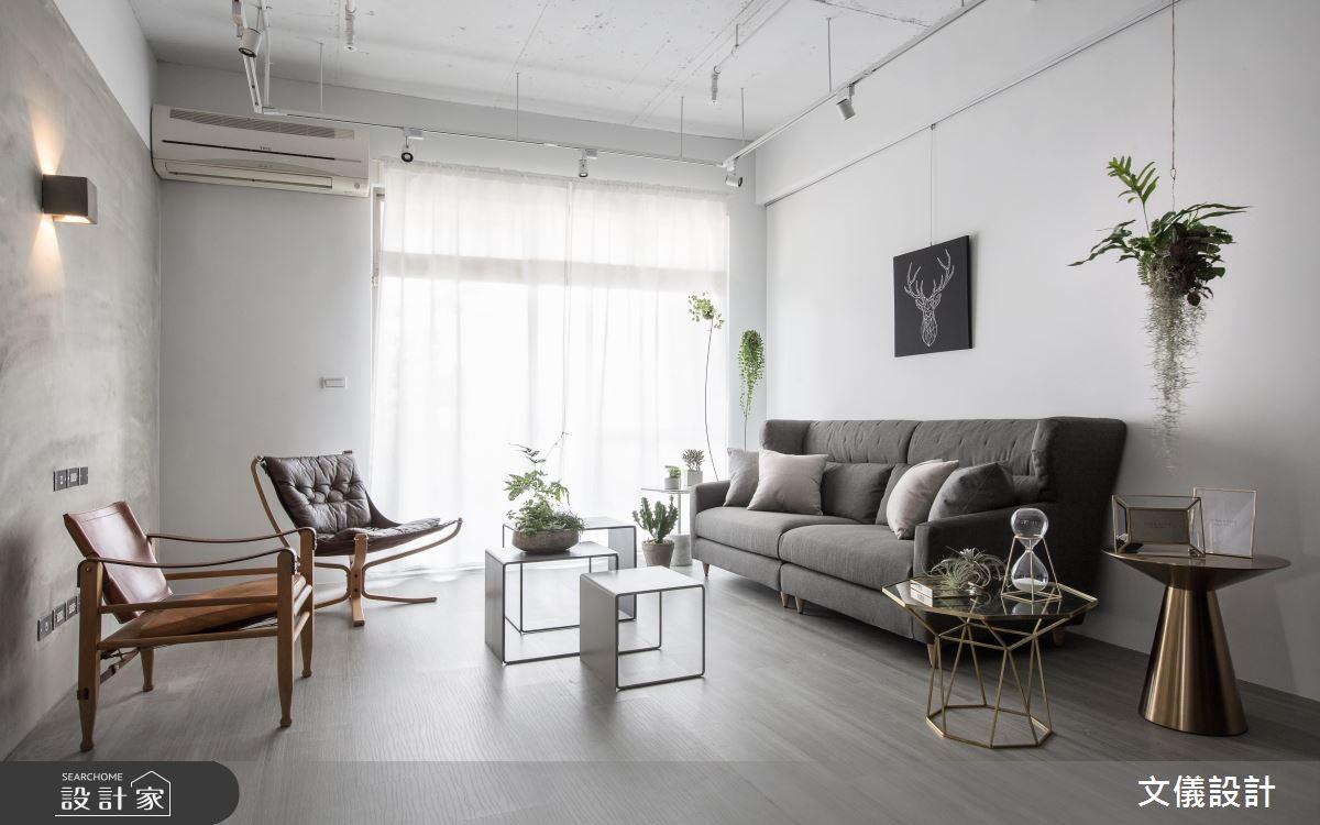 植栽黑白配改造中古屋!美得不可方物的 38 坪放鬆宅