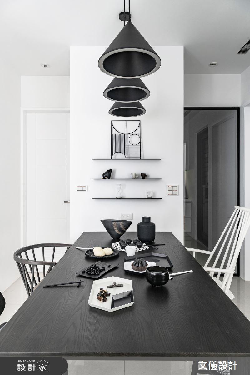 27坪新成屋(5年以下)_簡約風餐廳案例圖片_文儀室內裝修設計有限公司_文儀_型。無色之14