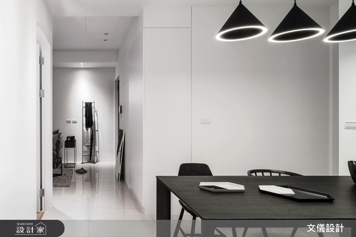 27坪新成屋(5年以下)_簡約風餐廳案例圖片_文儀室內裝修設計有限公司_文儀_型。無色之10