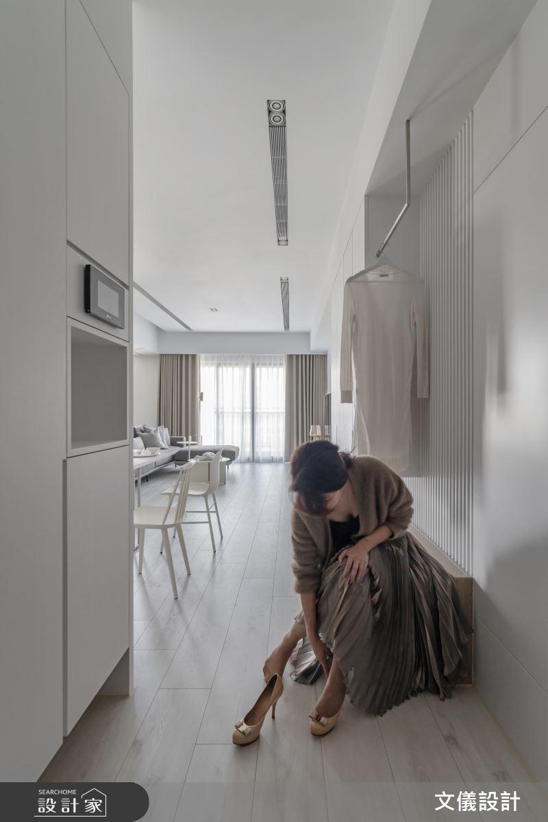 37坪新成屋(5年以下)_飯店風玄關案例圖片_文儀室內裝修設計有限公司_文儀_蘊。質淬之2