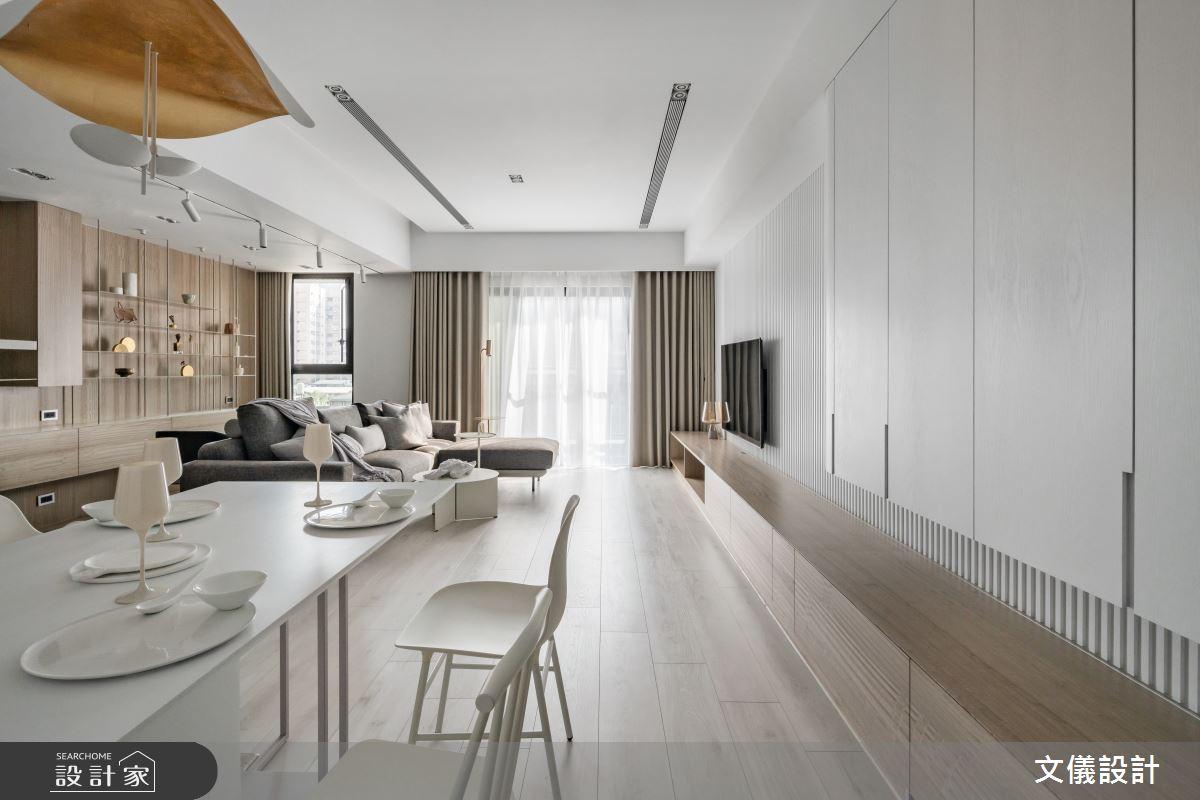 37坪新成屋(5年以下)_飯店風餐廳案例圖片_文儀室內裝修設計有限公司_文儀_蘊。質淬之4