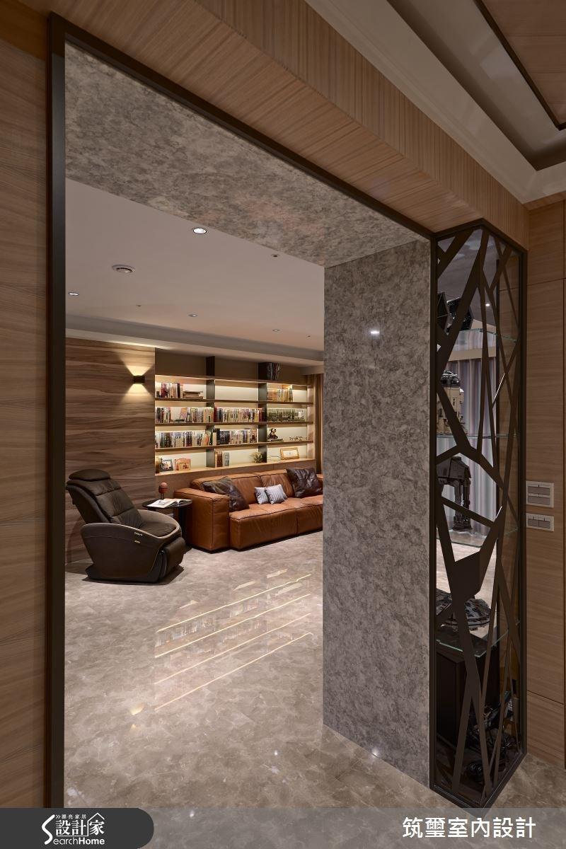 55坪新成屋(5年以下)_現代風客廳走廊案例圖片_筑璽室內設計_筑璽_03之2