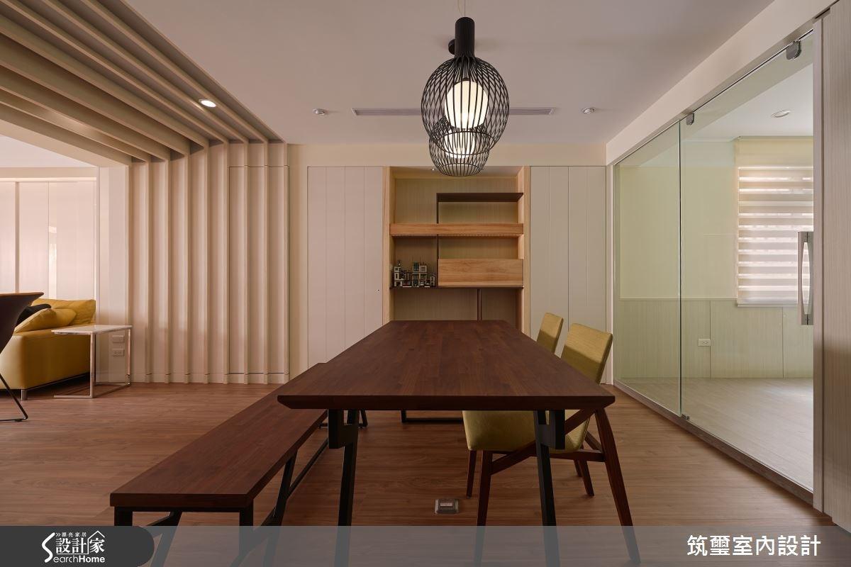 32坪老屋(16~30年)_現代風餐廳案例圖片_筑璽室內設計_筑璽_06之4
