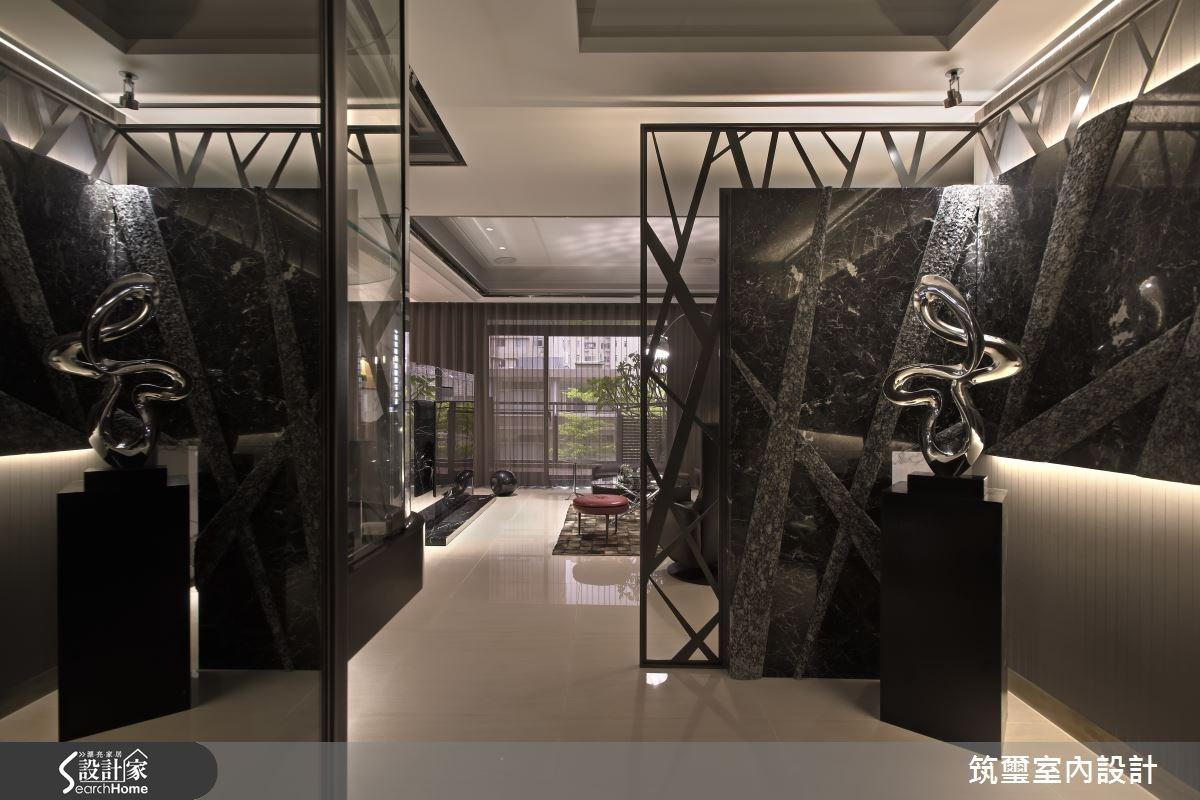 65坪新成屋(5年以下)_現代風玄關案例圖片_筑璽室內設計_筑璽_08之1