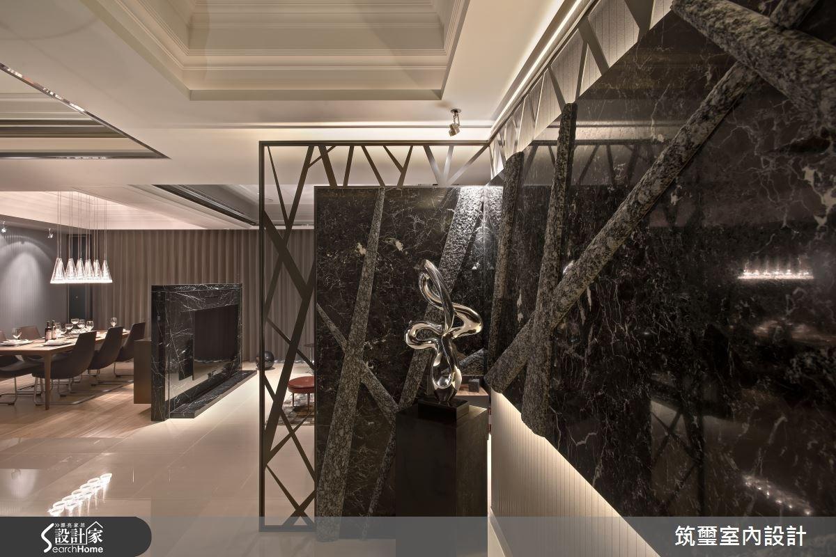 65坪新成屋(5年以下)_現代風玄關餐廳案例圖片_筑璽室內設計_筑璽_08之2