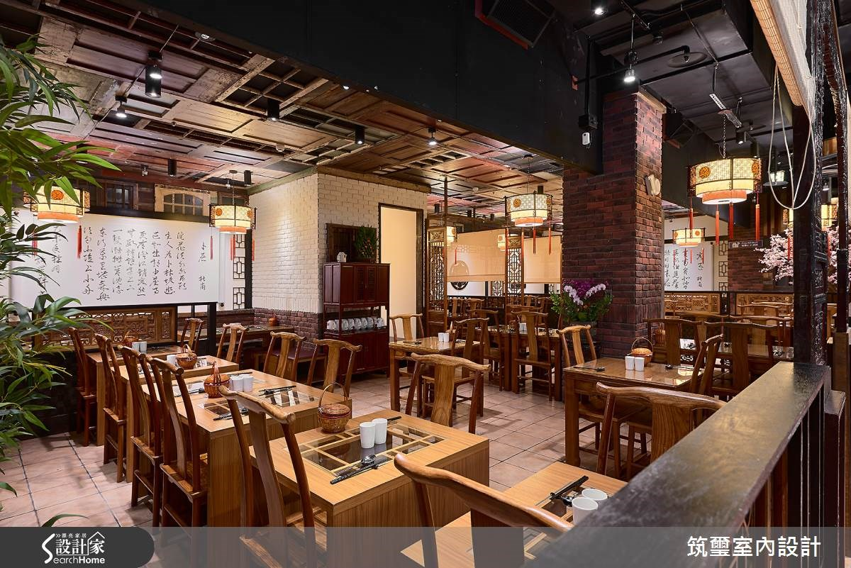 55坪新成屋(5年以下)_新中式風餐廳案例圖片_筑璽室內設計_筑璽_10之5
