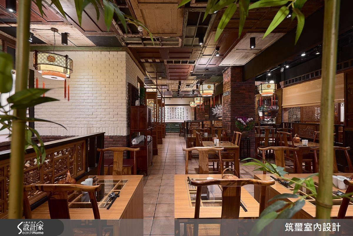 55坪新成屋(5年以下)_新中式風餐廳案例圖片_筑璽室內設計_筑璽_10之6
