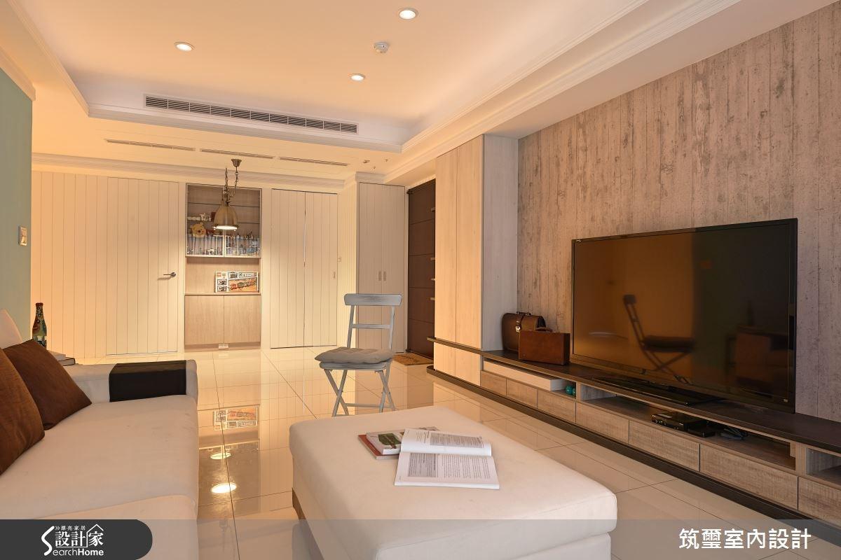 40坪新成屋(5年以下)_現代風客廳案例圖片_筑璽室內設計_筑璽_12之4
