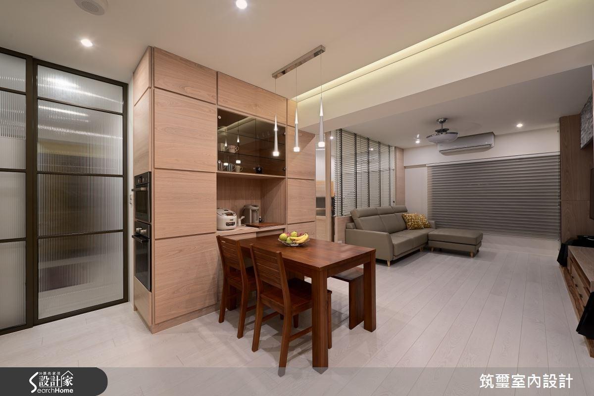 35坪新成屋(5年以下)_現代風餐廳案例圖片_筑璽室內設計_筑璽_14之2
