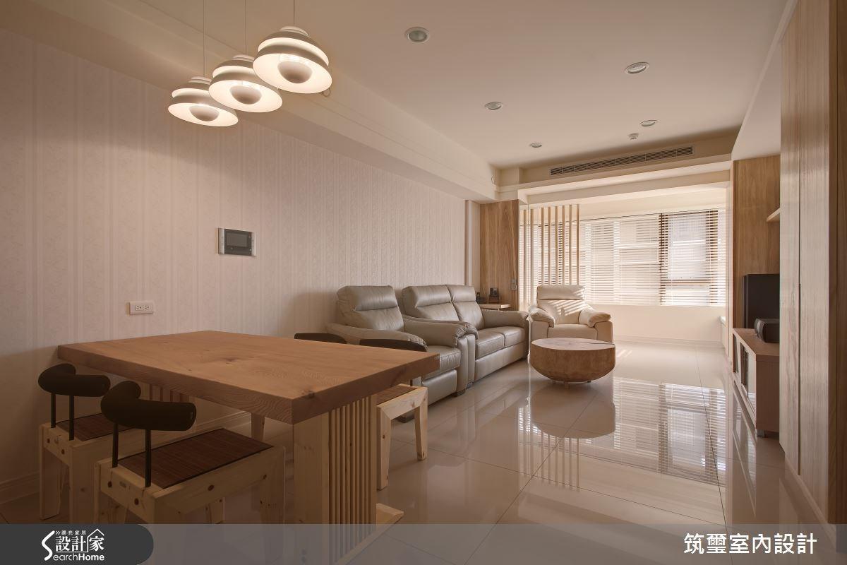 30坪新成屋(5年以下)_休閒風餐廳案例圖片_筑璽室內設計_筑璽_15之2
