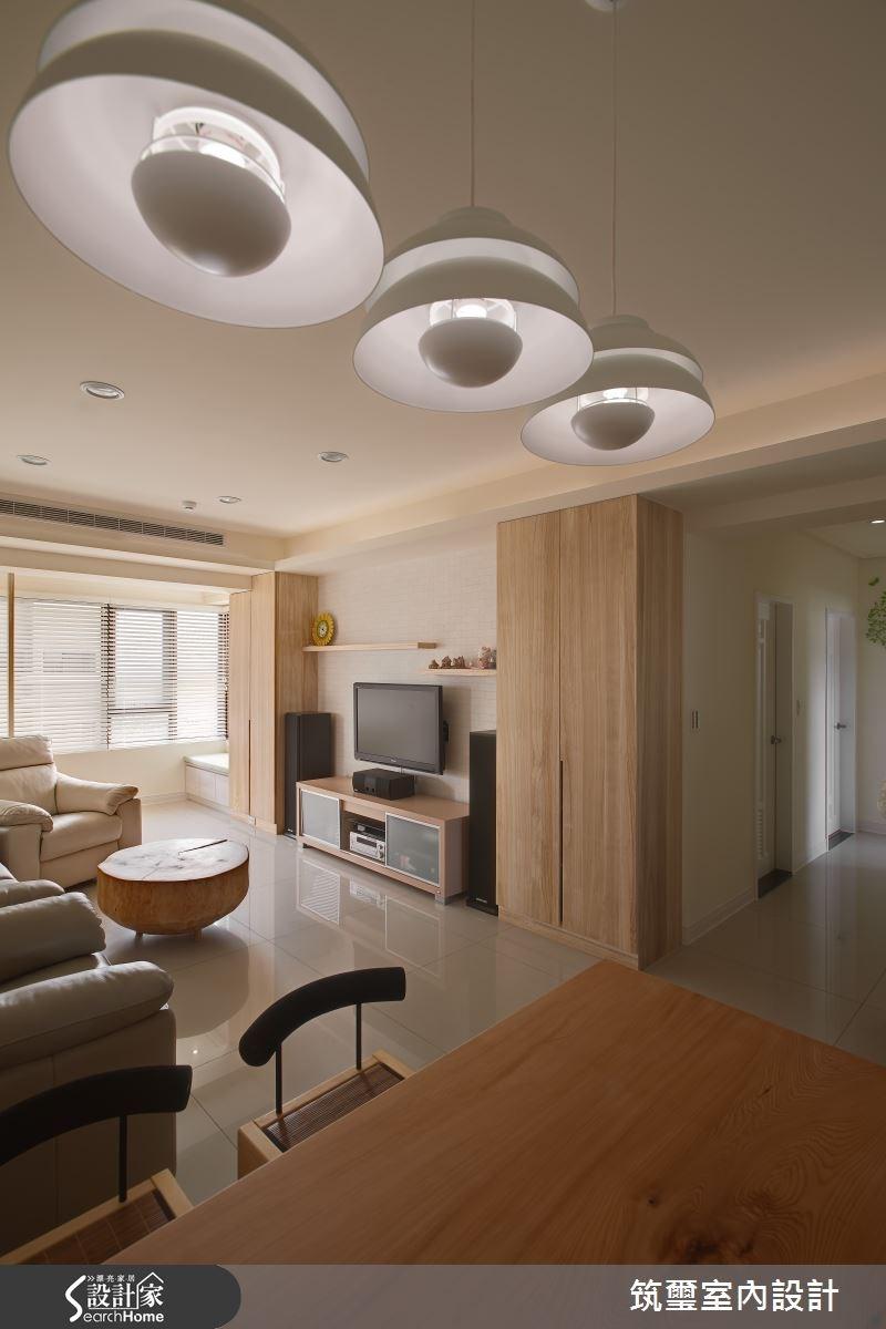 30坪新成屋(5年以下)_休閒風客廳案例圖片_筑璽室內設計_筑璽_15之3