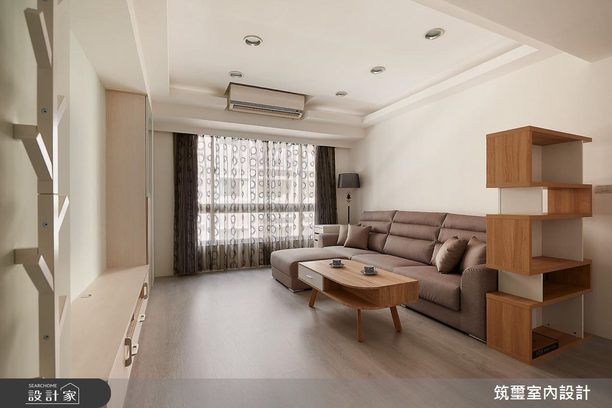 35坪新成屋(5年以下)_休閒風案例圖片_筑璽室內設計_筑璽_21之2