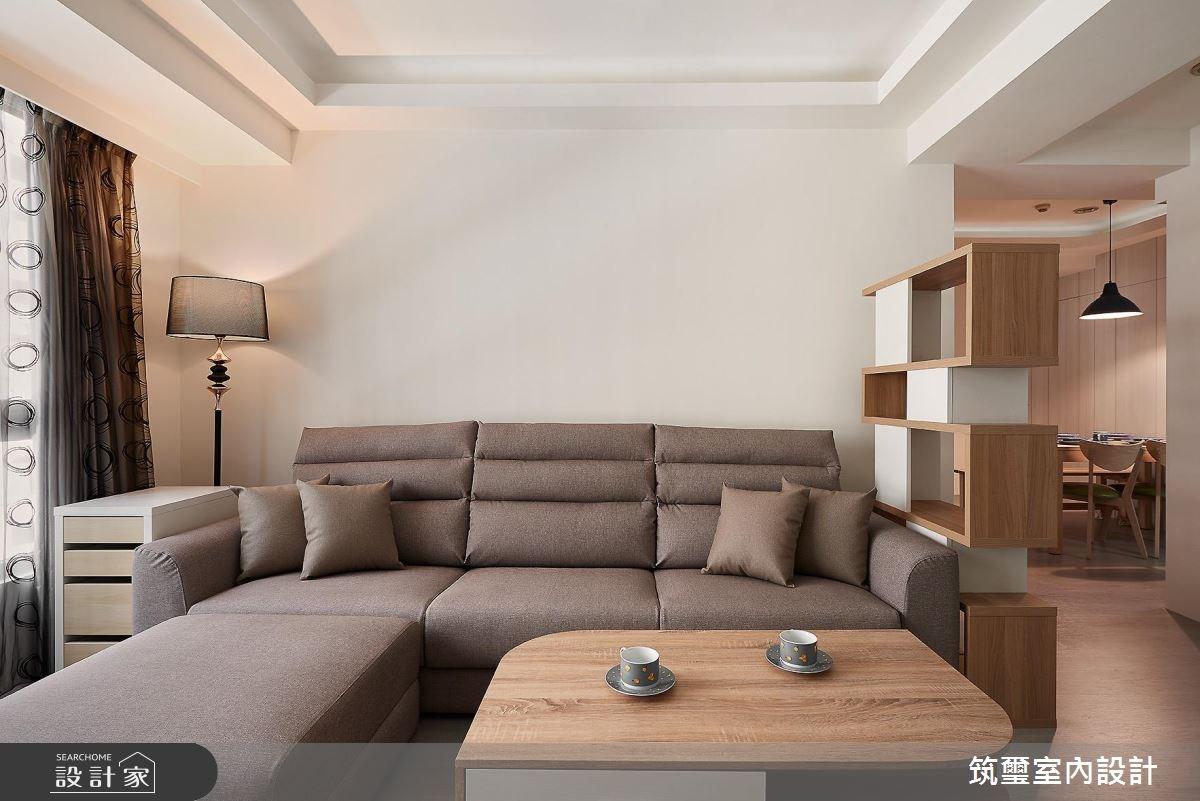 35坪新成屋(5年以下)_休閒風案例圖片_筑璽室內設計_筑璽_21之3
