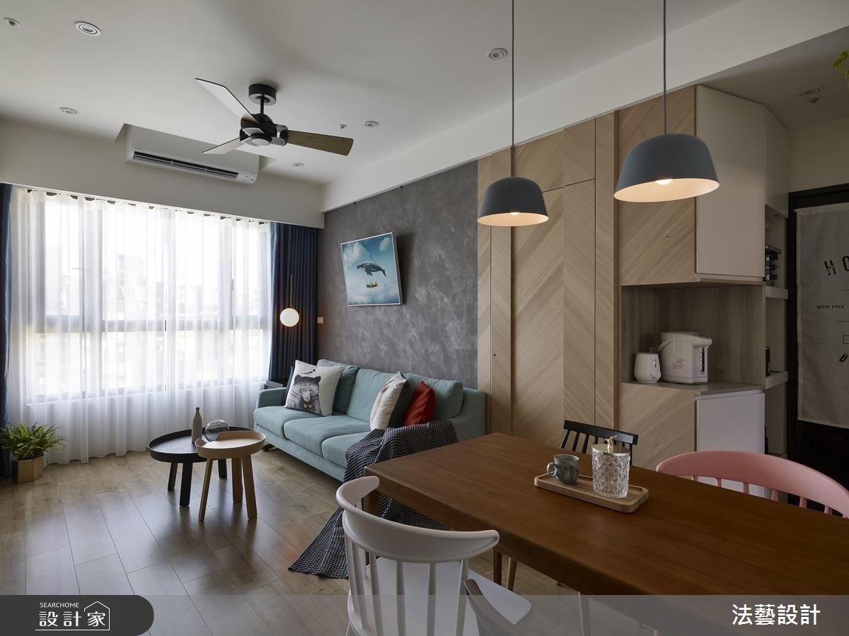 15坪新成屋(5年以下)_北歐風案例圖片_法藝設計_法藝_08之9