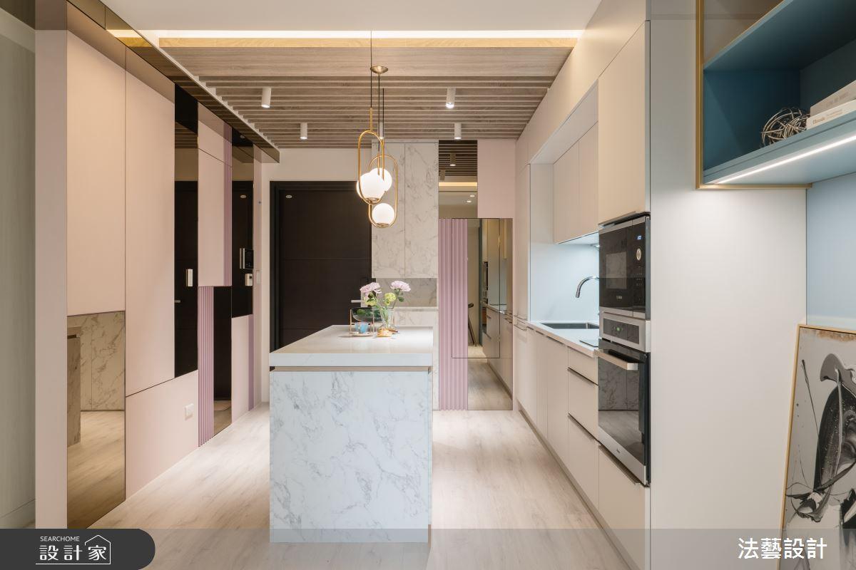 11坪新成屋(5年以下)_現代風廚房案例圖片_法藝設計_法藝_13之3