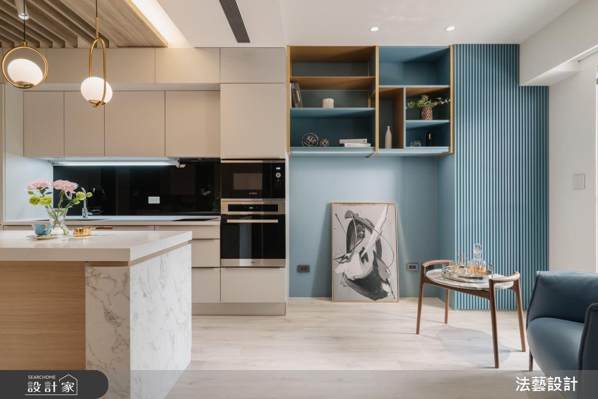 11坪新成屋(5年以下)_現代風廚房案例圖片_法藝設計_法藝_13之5
