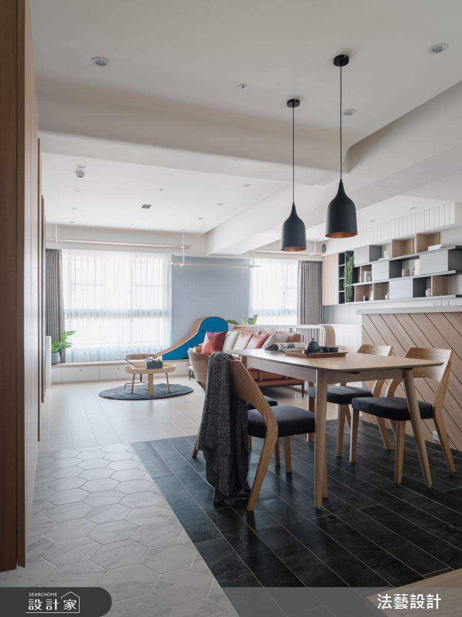 29坪新成屋(5年以下)_北歐風餐廳案例圖片_法藝設計_法藝_18之3