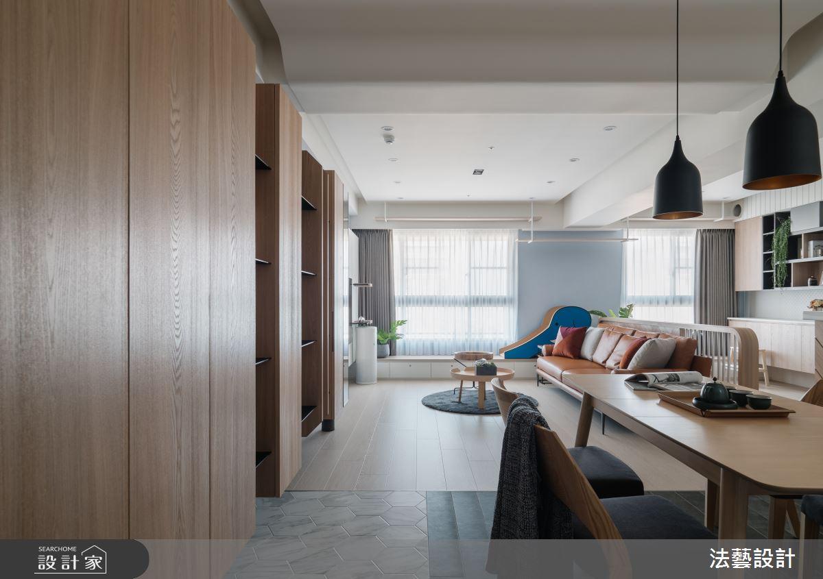 29坪新成屋(5年以下)_北歐風餐廳案例圖片_法藝設計_法藝_18之1