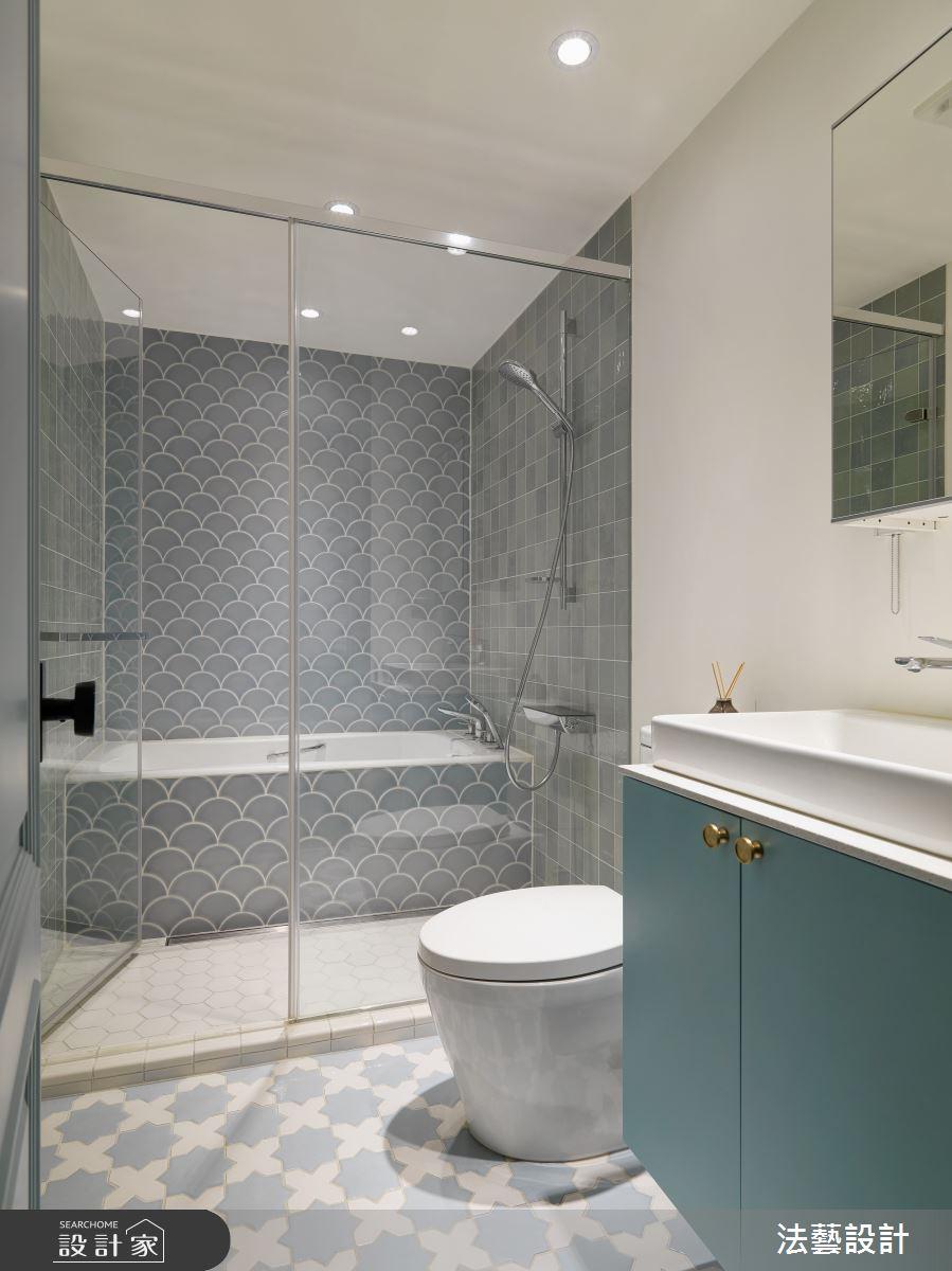 26坪老屋(31~40年)_美式風浴室案例圖片_法藝設計_法藝_19之3