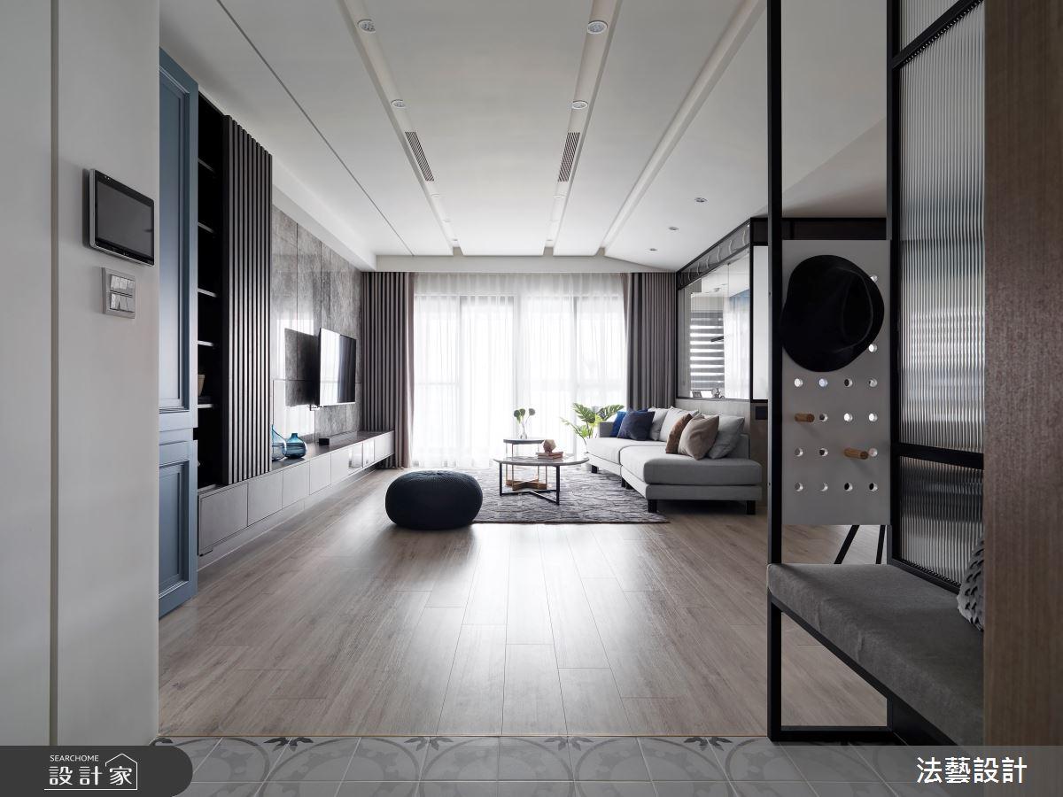 34坪新成屋(5年以下)_混搭風案例圖片_法藝設計_法藝_24之4